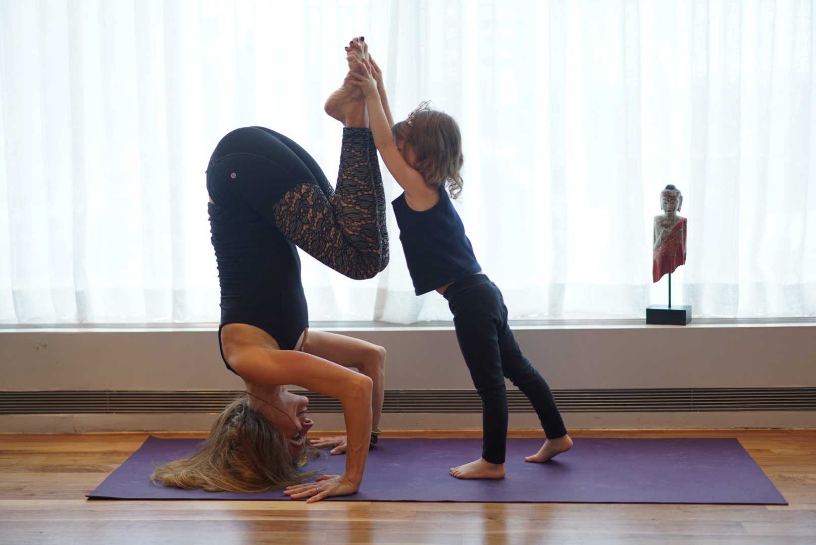 Mommy & Me Headstand